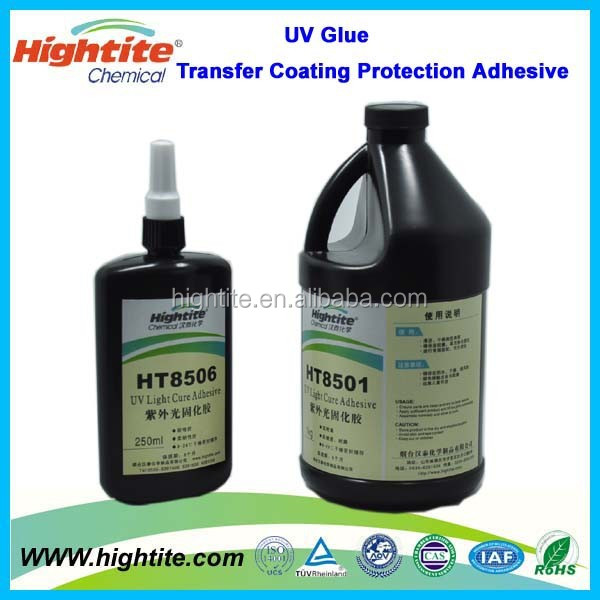 HT 8501 UV Glue Transfer Coating protection Adhesive for smart card/keypad/touch panel