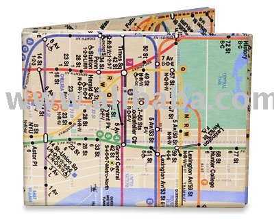 The ORIGINAL GENUINE Tyvek Mighty Wallet - NYC Subway Wallet