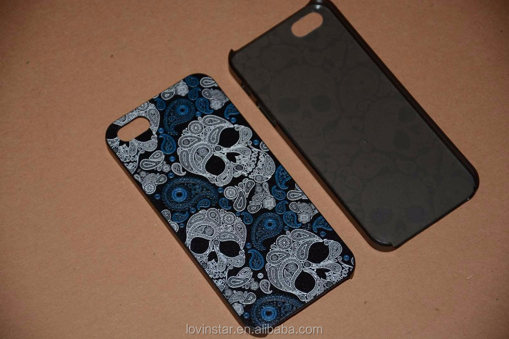 Trendy Bulk custom TPU soft cell phone skull case For iPhone7 6 6S plus 5 5S phone case