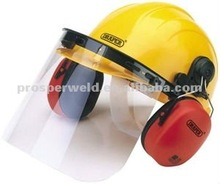 High quality new design SAFETY HELMET WITH EARMUFF, industrial safety helmet