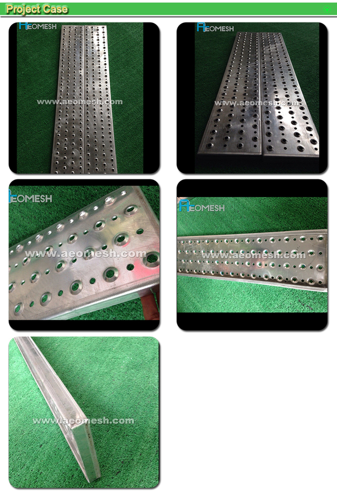 Made in Guangzhou Professional Factory Flower punching version Decorative Metal Perforated Mesh