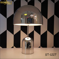 ST-1227 sunbelt Silver plating lamps modern table lamp, led iron table lamp