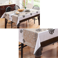 PEVA/PVC Waterproof vinyl Tablecloth
