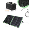 Solar Portable Charger Backup Power UPS G500 Solar Powered Station Supply