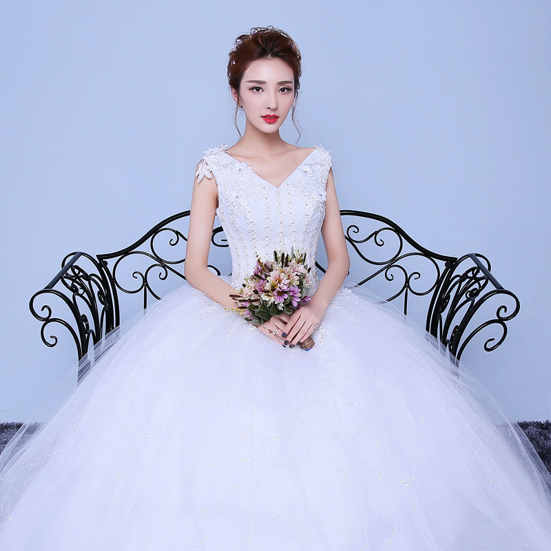 ZH1024G China custom made wedding dress cheap guangzhou wedding dress