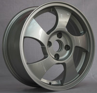White TE37 Color Aluminum alloy wheel rim with competitive price
