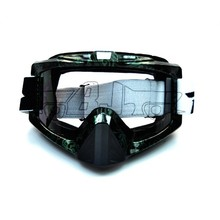 BJ-MG-013 Custom emerald green frames clear lens auto racing safety glasses goggles
