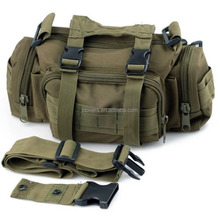 Army Green 1000D waterproof nylon travel bag