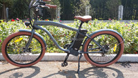 beach cruiser electric bike with battery for sale