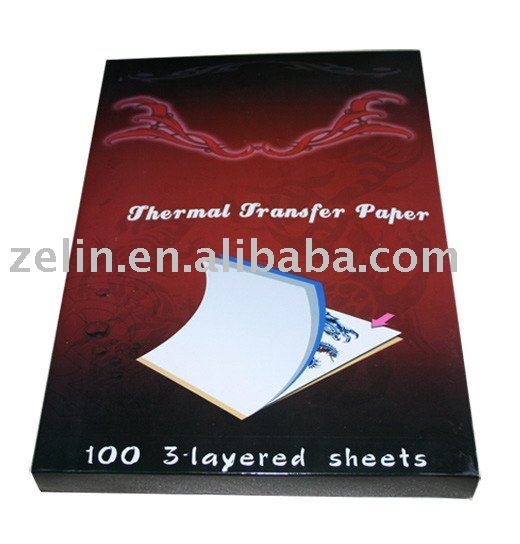 new thermal transfer printing paper