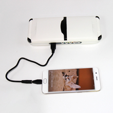New premium Portable 12000mah Solar Laptop Charger Micro USB Mobile Phone Solar Charger / External Backup Battery Charger