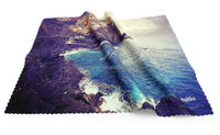 Colorful Picture Printed Microfiber Spectacle Cleaning Cloth