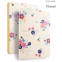 Color Printing Folio Stand PU Leather Case for iPad, Smart Flip Cover Case for iPad2 3 4 (Icing on The Cake)