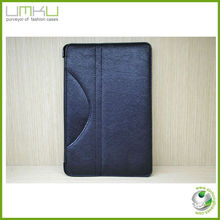 Hot selling high quality wallet case leather case for ipad mini flip case