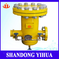 99.9% separation efficiency lpg/cng gas centrifugal filter separator