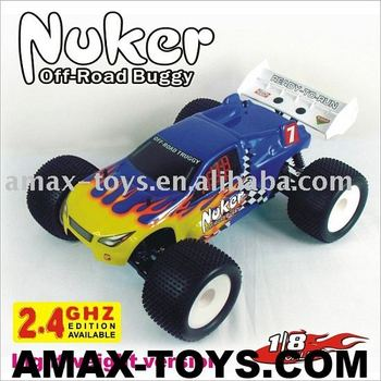 08610 1:8th Scale RC car Lightweight version Nitro Off Road RC Truggy-Nuker,2.4G edition RC hobby available