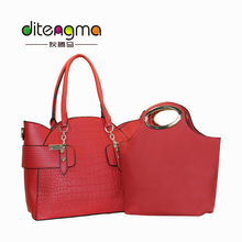 Top 2017 newest pictures lady fashion women bag handbag handles wholesale for wholesale