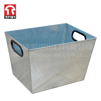 Torin SWK5013 Corrugated Stackable metal box Steel container