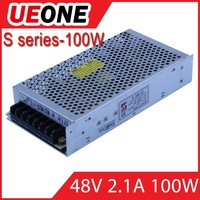 ueone meanwell 48v industrial 100w led switching power supply