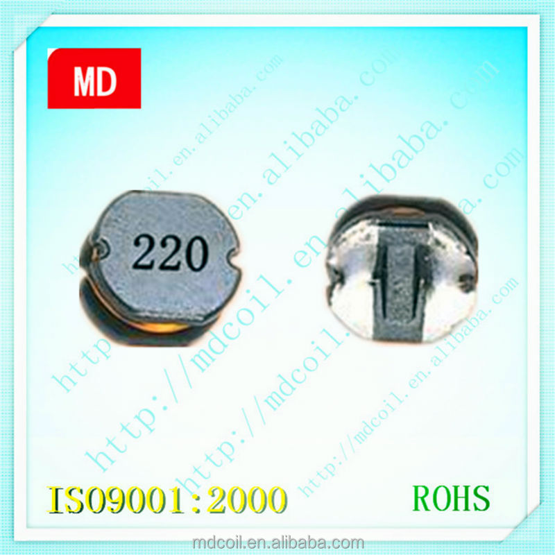 High efficiency ferrite chip bead smd power inductor coil for LED