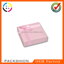 Auto Machine Made Different Types Recycled Paper Jewellery Gift Box Custom Design