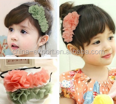JPHAIR150308 hot sale 2015 Baby Girls Toddlers Kids Infants Flower Headband