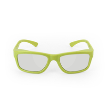 High definition 3D visual glasses, 3D metal screen used polarization applicance, DLP link projector 3D eyewear