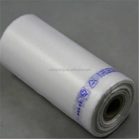 good quality HDPE/LDPE Plastic Flat Food Packaging Roll Bag or block