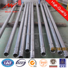 Angola Hot-dip-galvanized Steel Pole Manufacturer outdoor lamp post Factory street light poles