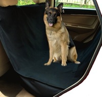Waterproof Hammock Pet Seat Cover for Cars and SUV with Seat Anchors, Nonslip, Extra Side Flaps