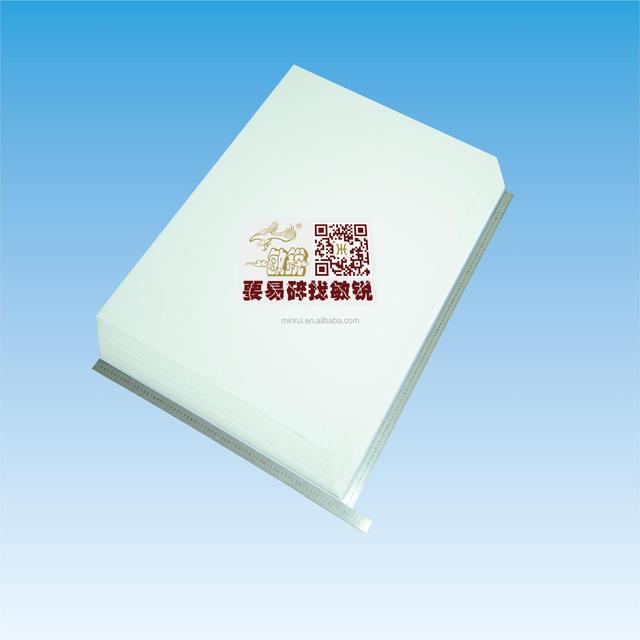 Wholesale Minrui Brands Security Fragile Label Printable A4 Size Eggshell Sticker Paper