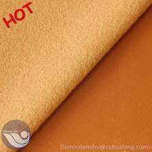 100% Polyester garment brushed knitted fabric / track suits super poly net fabric to mexico market