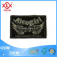 China wholesale jeans label