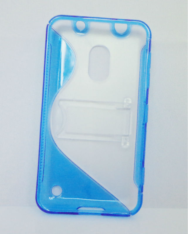 S Line TPU gel case for nokia lumia 620 protective case