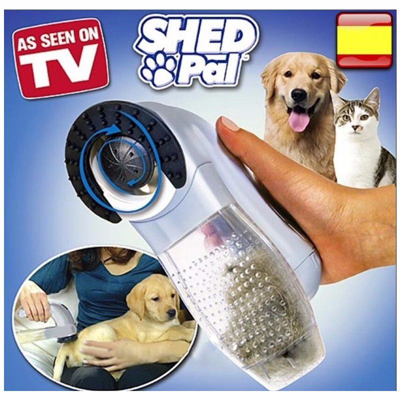 As seen on tv Pet shed pal Pet Hair Vacuum-Powered Pet Groomer