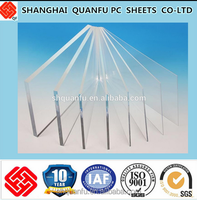 Red andvertising light sighs 10-year warranty polycarbonate solid sheet greenhouse roofing material panel