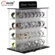 Free Design Factory Price Shopping Mall Branded Watch Showroom Acrylic Floor Watch Display Stand