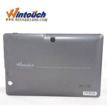 "Wintouch 7"" tablet pc Q75S multi color support flash"