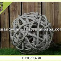Nice Natural Material Handcraft Ball Christmas
