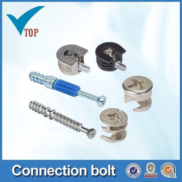 Furniture connecting bolt cam bolts hardware