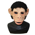 BRAND NEW Orangutan Monkey Ape Latex Adult Halloween Mask Action Mouth Moves