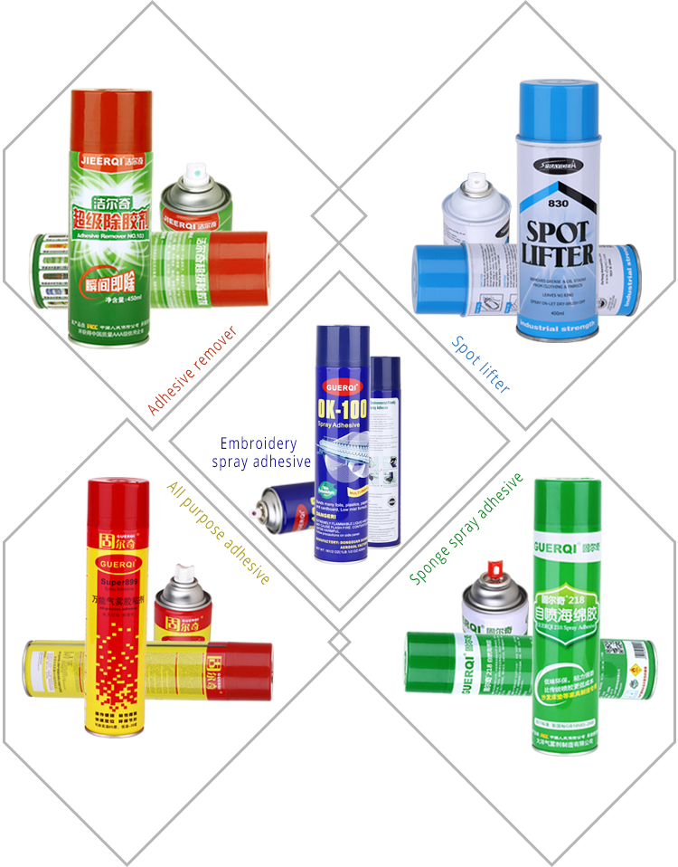 Alibaba china no three formaldehyde sticking spray