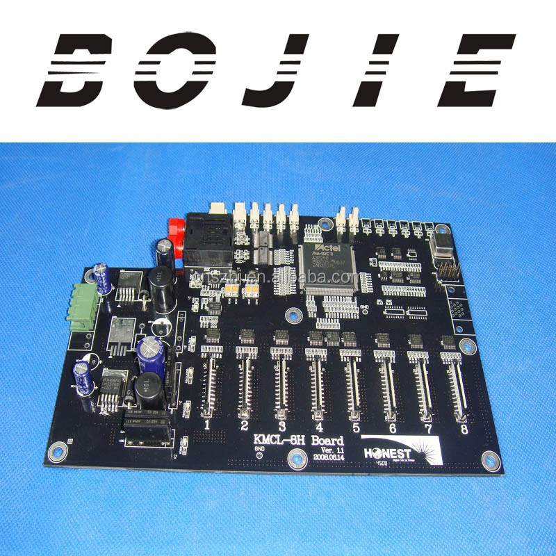 printer carriage board for honest konica 512 KMCL-8H board Ver1.1