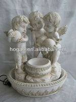 Decorative resin statues/angel design for garden decoration