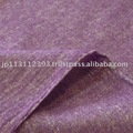 Gauze mesh of linen and wool_Purple