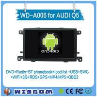 2016 Android car dvd player for AUDI Q5 gps navigation radio audio stereo Quad core 16G