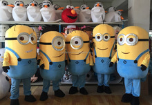 Minions Despicable Me Mascot Costumes Adults EPE Fancy Dress Outfit Adult -1 Stock