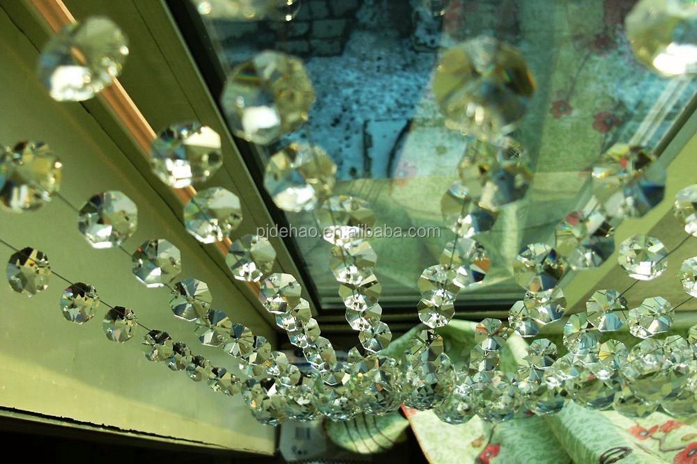 Fashion Chandelier Centerpiece Handmade Hanging Crystal Chain