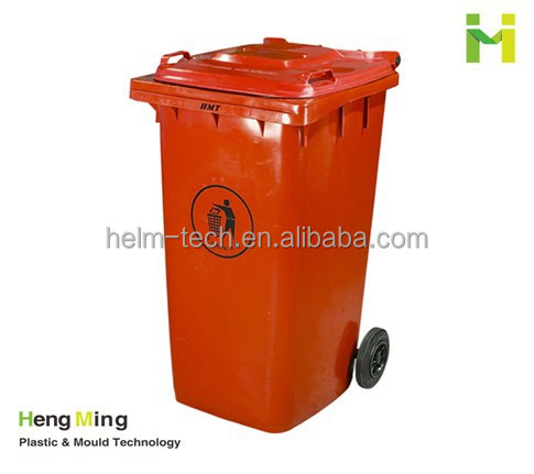 360 liters Plastic Wheelie Recycle Bin With Pedal