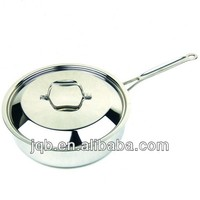2014 Factory Price Milk pan stainless steel premier cookware